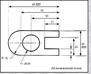 drawing dimensioning