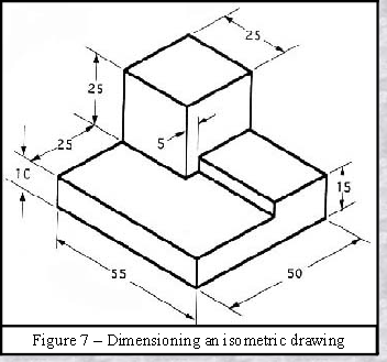 Dimensioning on Orthographic and Isometric Drawings - ast Angle ...