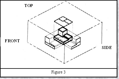 how to draw isometric view from orthographic view pdf