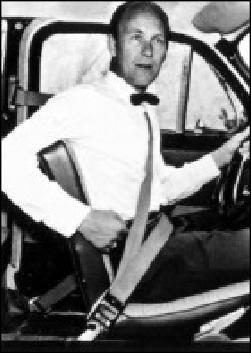 Nils Ivar Bohlin Inventor Of The Three Point Seat Belt